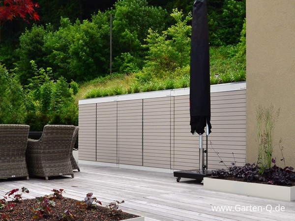 Gartenschrank für Terrasse